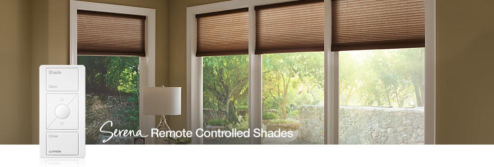 Serena controlled shades